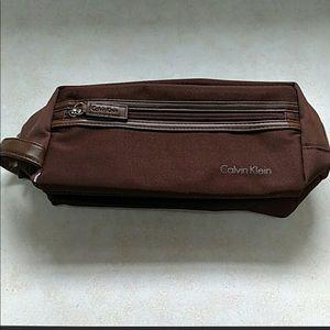 Calvin Klein toiletry travel bag